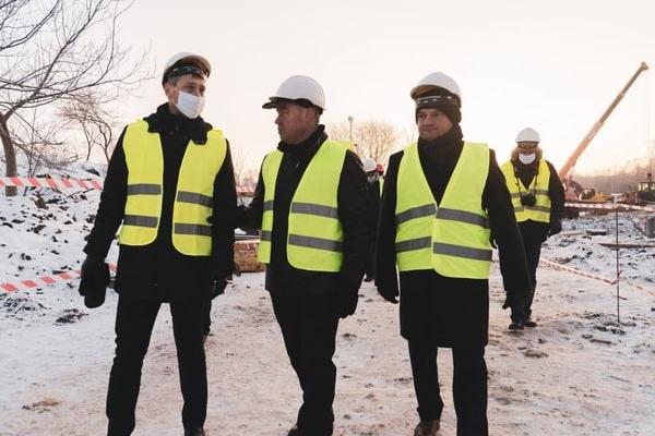 У Тернополі триває масштабне будівництво сучасної станції знезалізнення води