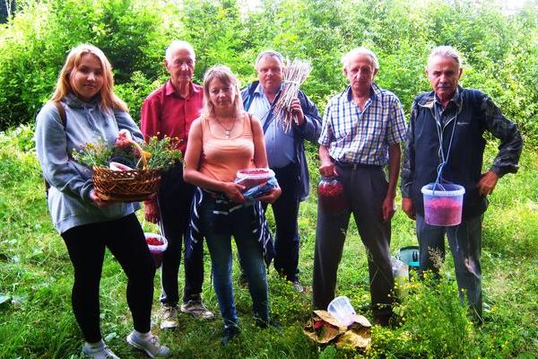 Зимові спогади про літній збір малина на Теребовлянщині, що на Тернопіллі
