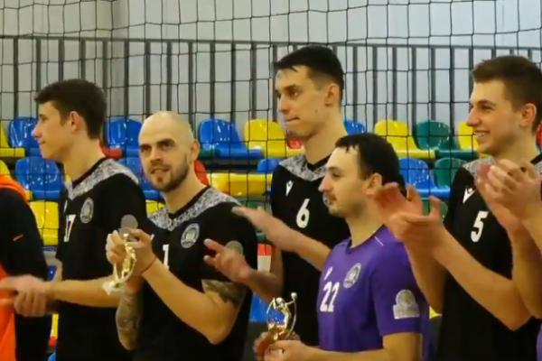 Тернопільські волейболісти перемогли у «Кубку Галичина»