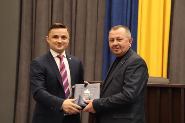Тернополянам вручили грамоти Верховної Ради України