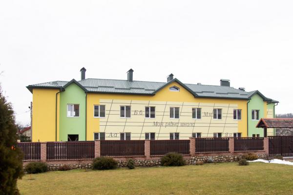 На Тернопільщині триває будівництво сучасного навчально-виховного комплексу