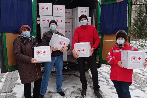 Мешканцям Тернопільщини передали соціальну допомогу