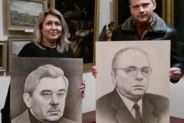 Тернопільському музею передали унікальні портрети