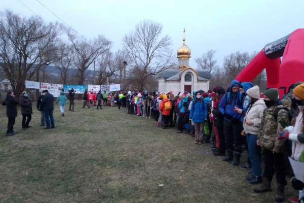 На Бережанщині відбулися зимові туристичні змагання «Снігохід –2021»