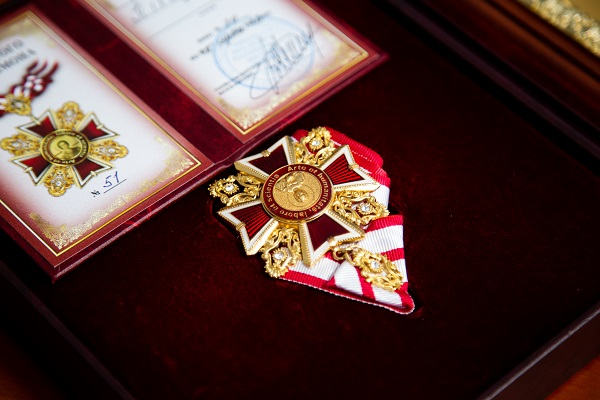 Тернопільщина: знаному благодійнику вручили Орден Святого Пантелеймона