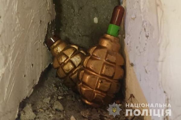 Тернопіль: колишній військовий зберігав бойові гранати у власній квартирі