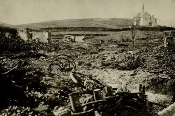 Село Баранівка на фото часів Першої світової війни