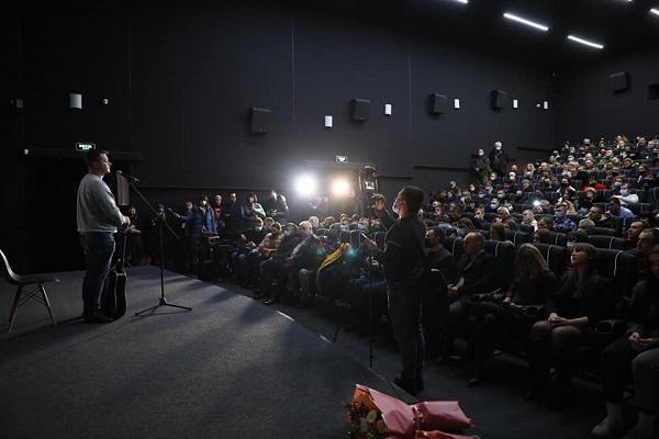 Тернополянам презентували документальний фільм «Трохи нижче неба»