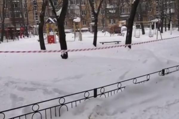 У Києві багатодітний батько підірвав себе гранатою на дитячому майданчику (Відео)