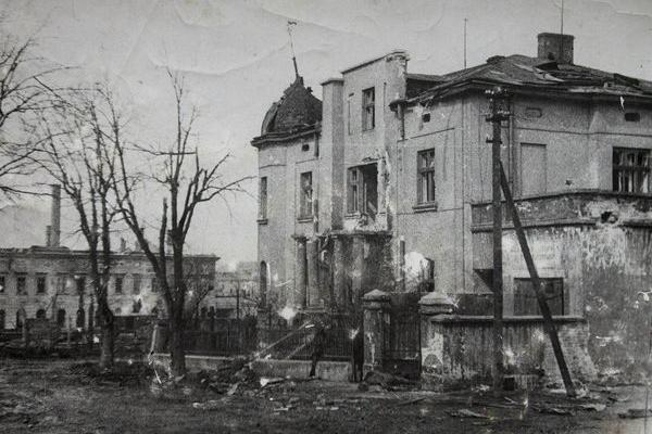 Зруйнований Тернопіль на фото 1944 року