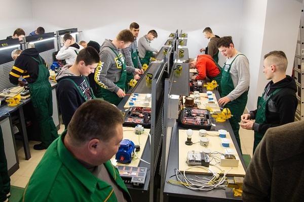 На Тернопільщині відкрили ще один навчально-практичний центр
