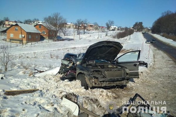 На Тернопільщині ДТП: пасажир помер на місці