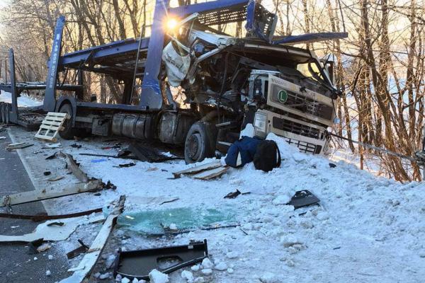 ДТП: на Тернопільщині зіткнулися дві вантажівки