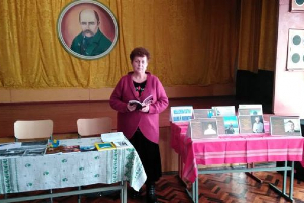 Авторка книги «Рабів до раю не пускають» зустрілася з учнями
