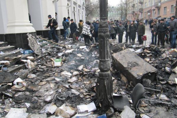 7 років тому Тернополем прокотилася «ніч гніву» (Фото)