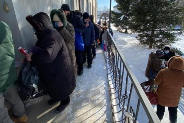 У Тернополі безкоштовно годують безхатьків і малозабезпечених людей