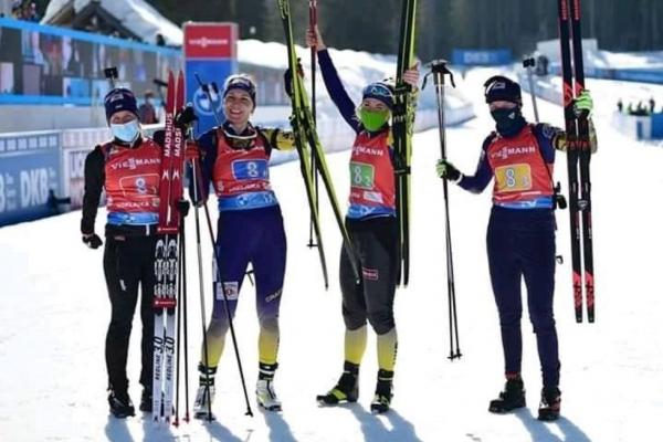 Збірна України з біатлону завоювала бронзу на чемпіонаті світу