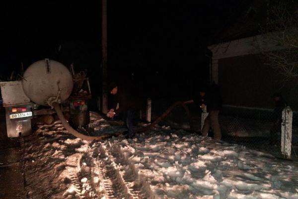 Через аварію на водогоні, Ланівці залишилися без води