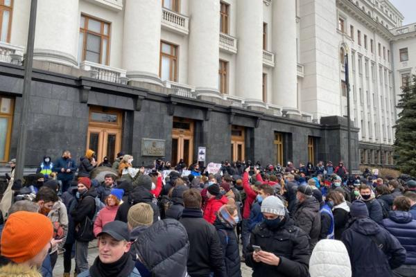 Жителі Тернопільщини підтримують масштабну акцію протесту проти вироку Стерненку