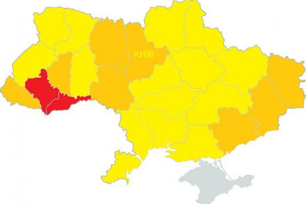 Тернопільщину можуть віднести до «червоної» зони карантину