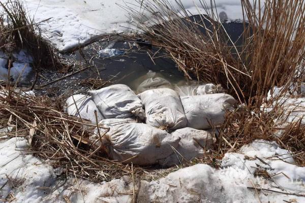 На Тернопільщині виявили прорив дамби: можливі паводки