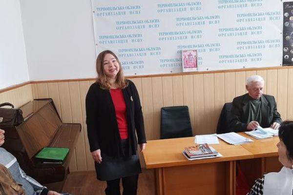 У переддень весни зустрілись літератори Тернопільського краю