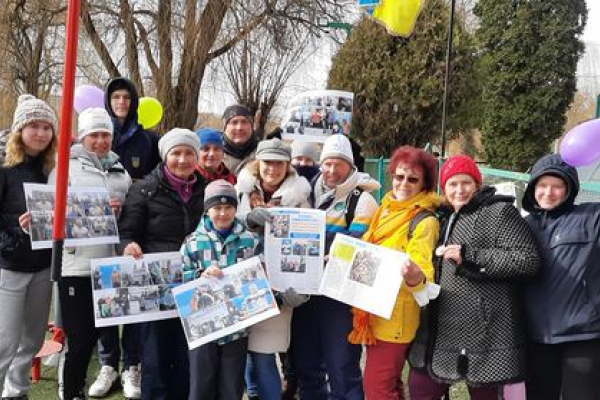 Як тернопільські «моржі» відзначили 35 років клубу «Нептун»