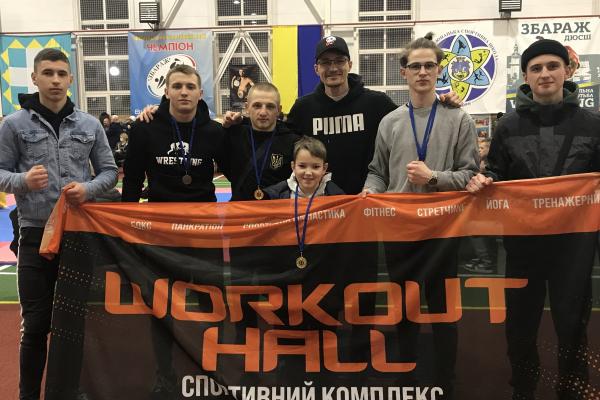 П'ять перемог здобули тернопільські спортсмени на змаганнях з фрі-файту у Збаражі