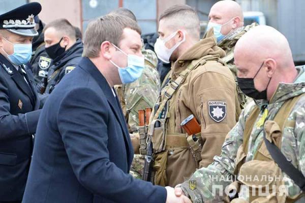 Правоохоронці Тернопільщини змінять своїх колег у зоні ООС