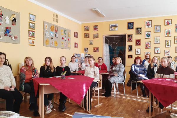 У Тернопільську мистецьку школу імені Ігоря Ґерети завітали письменники
