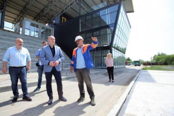 Сергій Надал домовився про добудову водної арени Тернопіль
