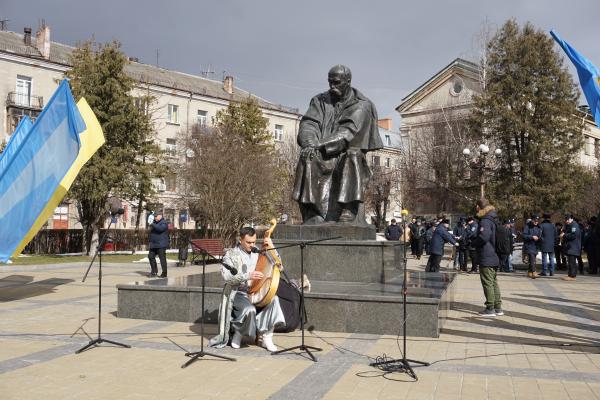 У Тернополі відзначили 207-му річницю з дня народження Тараса Шевченка