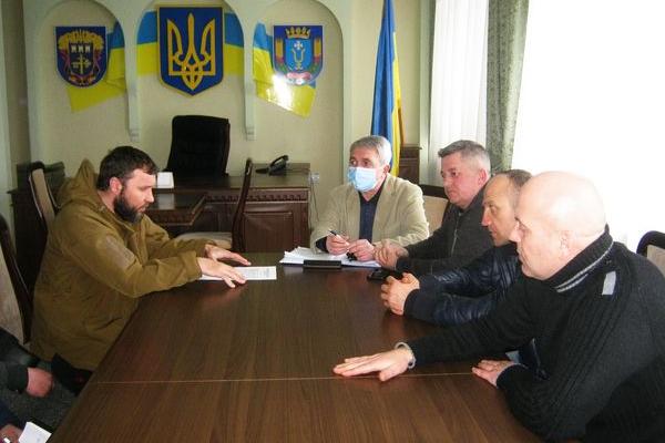 Ветерани війни на Донбасі шукають спільної мови з новою владою Теребовлі, що на Тернопільщині