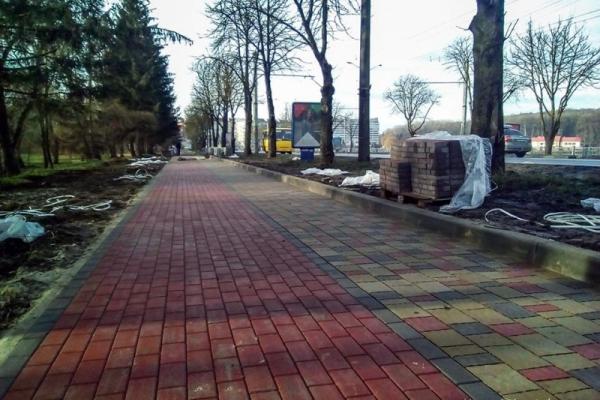 На оновлення тротуарів у Тернополі виділили 11 млн