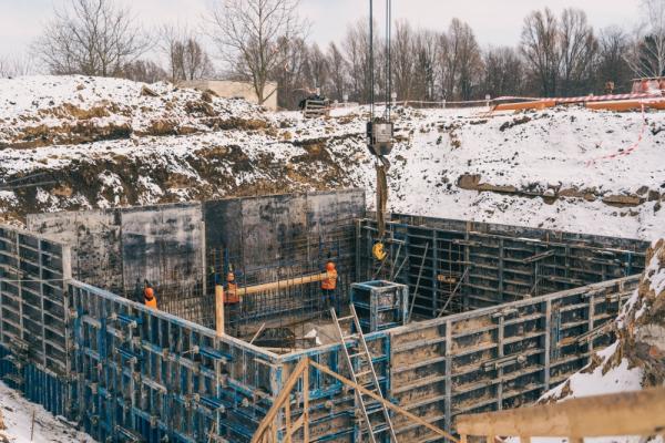 У Тернополі триває будівництво станції знезалізнення води