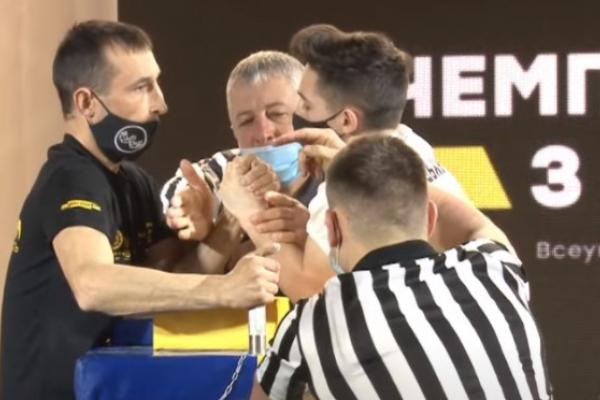 Вперше в історії чемпіонат України з армспорту проводиться у Тернопільській області