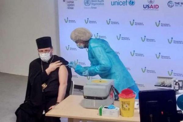 Глава УГКЦ вакцинувався від коронавірусу