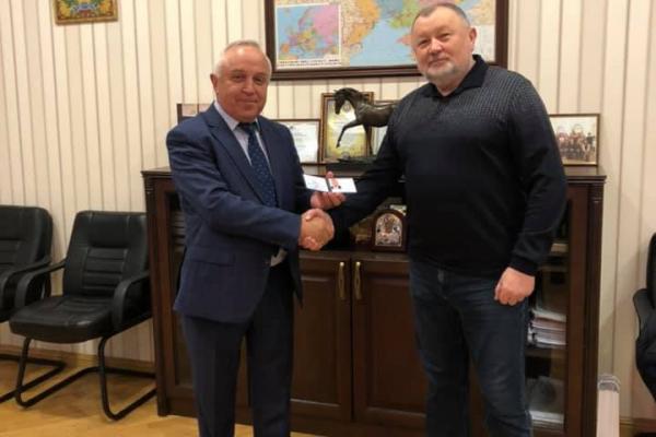 «Почесний академік»: Михайло Апостол отримав нове звання