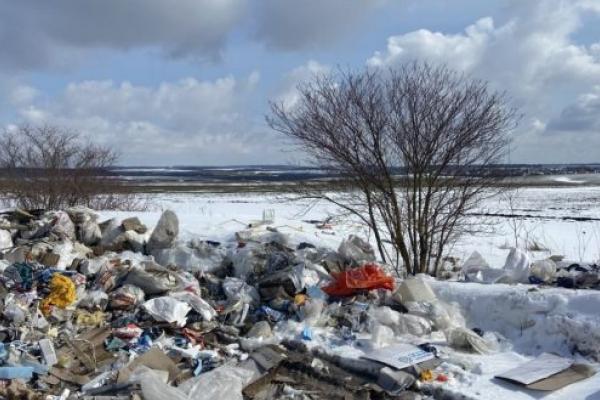 Неподалік Тернополя люди масово скидають сміття
