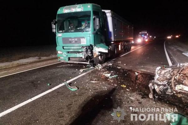 На Тернопільщині смертельна автопригода