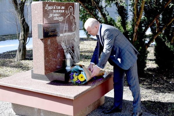 У Тернополі вшанували пам'ять загиблих працівників СБУ
