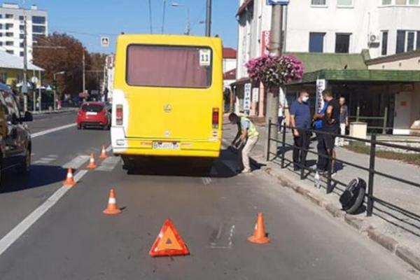 Як покарали водія маршрутки, який у Тернополі смертельно травмував чоловіка на моноколесі