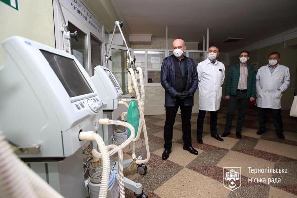 Тернопільські лікарні забезпечені киснем і безперебійним електропостачанням