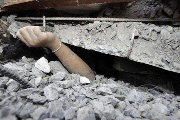 На Тернопільщині чоловік опинився під обвалами бетону
