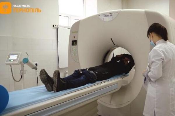 Безкоштовна томографія для військових у Тернополі