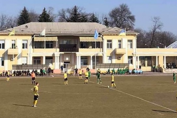 Тернопільська «Нива» програла в черговому матчі