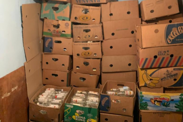 Кожного дня виготовлювали понад 1000 пляшок фальсифікату: на Тернопільщині судитимуть «бізнесменів»