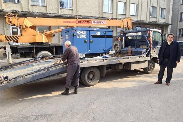 Надають допомогу пацієнтам зі COVID-19: в одній з опорних лікарень Тернопільщини постійні перебої з електроенергію