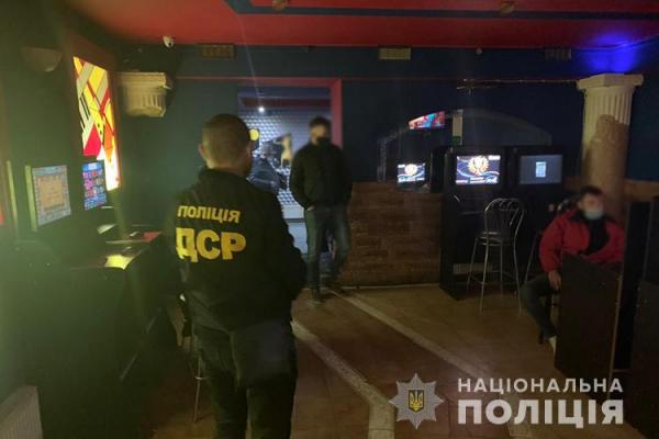 У Тернополі викрили незаконний гральний бізнес