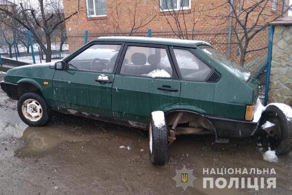 На Тернопільщині зловмисники потрапили в автопригоду на краденому авто